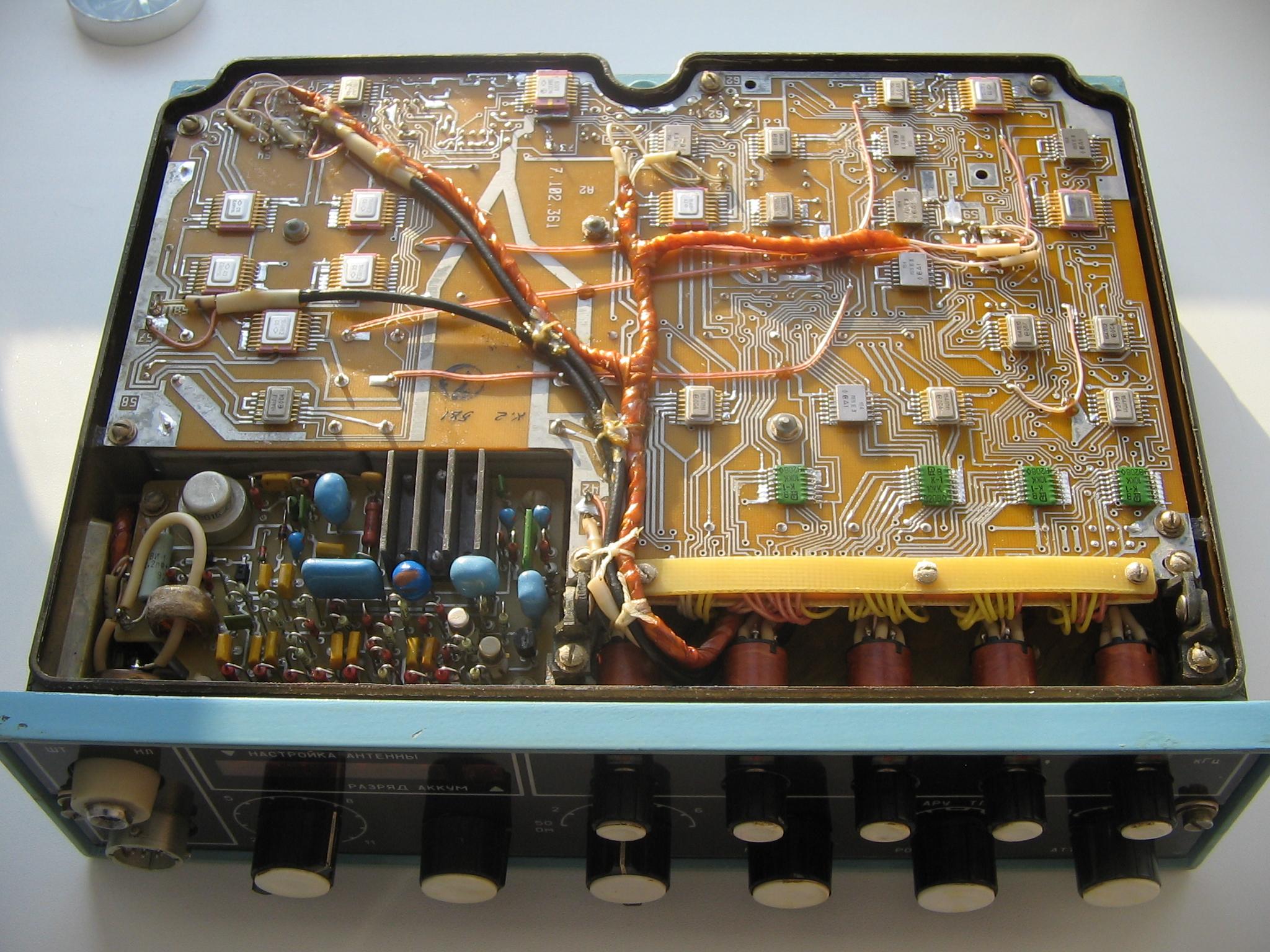 Схема трансивер ангара